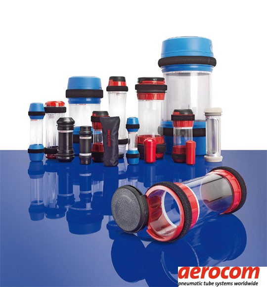 Aerocom pneumatic tube systems technology.