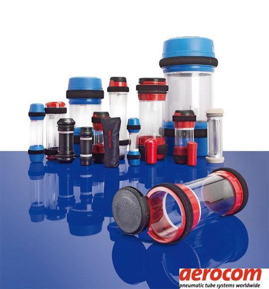 Aerocom pneumatic tube systems technology.